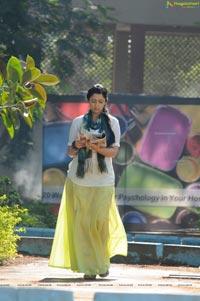 Charmi in Long Skirt