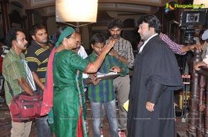 Barister Shankar Narayan on the sets
