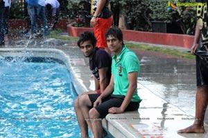Taj Banjara Pool Side Party
