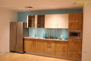 Plywood Kitchen Wardrobe