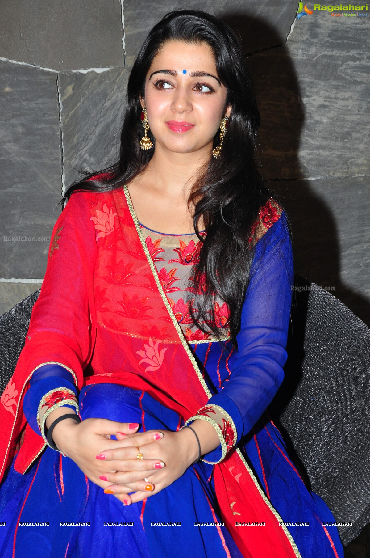 Charmme Kaur at Jyothi Lakshmi Interview, Photo Gallery