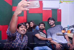 Andhhagadu Team at Radio Mirchi, Vizag