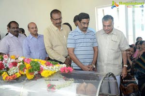 Celebrities Condolence C Narayana Reddy