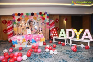 Aadya Birthday