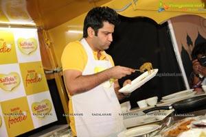 Saffola Masala Oats Food Truck