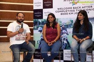 Women Bikers Felicitation