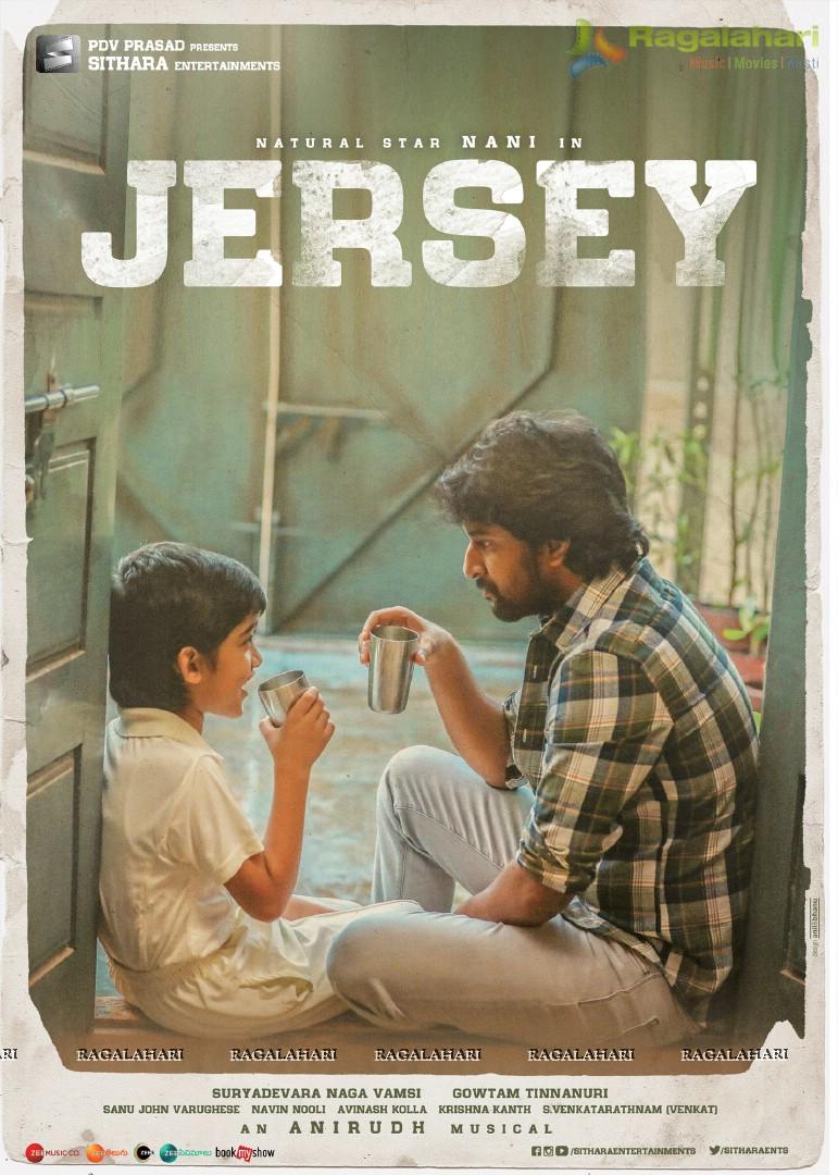 Sithara Entertainments Nani's Jersey Poster