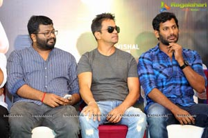Abhimanyudu Success Meet