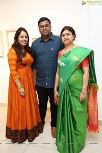 Mallesham Team at 'Weaving The Light' - The Art Show