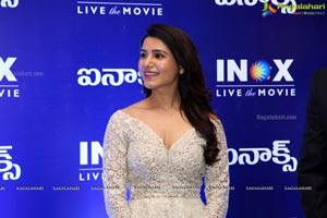 Samantha inaugurates INOX Multiplex at GSM Mall
