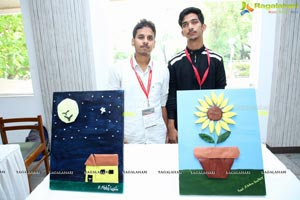 Exhibition of Tactile Paintings at LVPEI