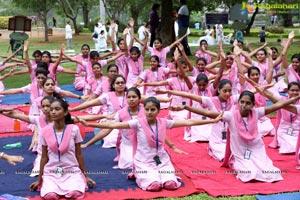 International Yoga Day 2019 at Jalagam Vengal Rao Park