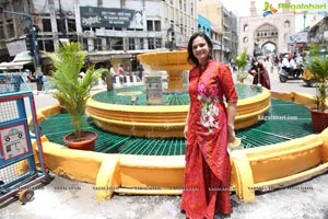 Lions Club of Hyd Petals Opens Heritage Monument Gulzar
