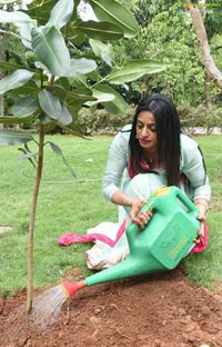 Anchor Udaya Bhanu Takes Up The Green India Challenge