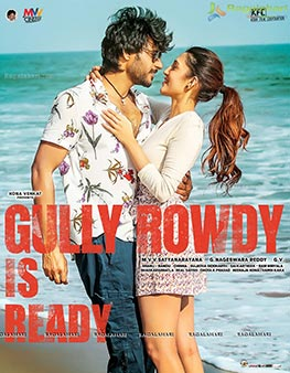 Gully Rowdy Is ready Poster Design