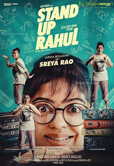 Varsha Bollamma's First Look Poster from Stand Up Rahul