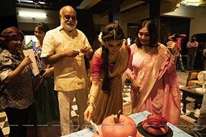 Srileela's Birthday Celebrations on PelliSandaD Sets