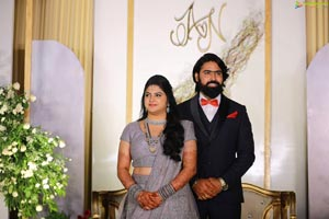 Actor Ashish Gandhi Marries Nikitha