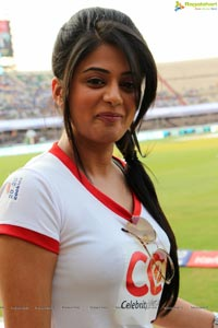 Heroines Hungama at CCL 2013 Semi-Finals