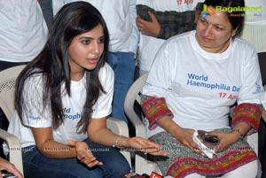 Samantha at World Hemophilia Day Walk