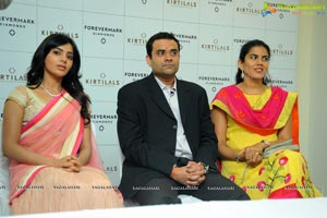 Samantha launches Forevermark in the Kirtilals