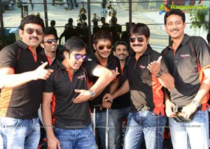 Telugu Warriors Team at Pune