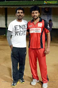 CCL 3 Telugu Warriors Semifinals Net Practice