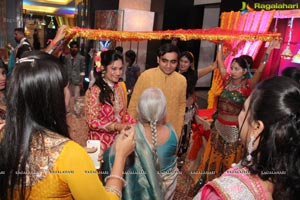 Gangor Festival Celebrations with Akshay and Nikshita