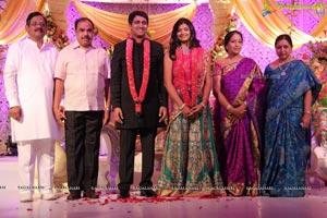 Ekanth Reddy-Pragnya Reddy Wedding Reception