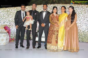 Kaushik-Ashvitha Wedding Reception