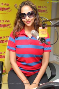 Lakshmi Manchu at Radio Mirchi