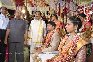 Pruthviraj Reddy-Madhuri Engagement