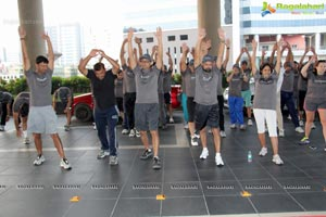 Wellness Run Yoga at Westin