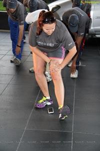 Wellness Run Yoga at Westin