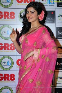 Adah Sharma in Saree