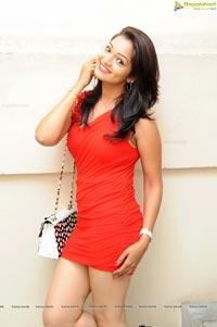 Ashwini in Red Dress
