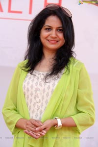 Sunitha at Say Yes to Health Event