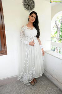 Sonal Chauhan in White Dress
