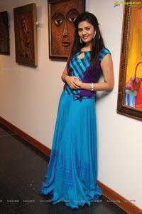 Sree Mukhi at Muse Art Gallery