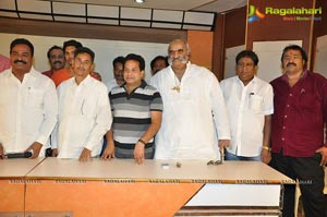 Telangana Association Press Meet