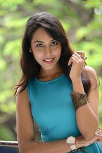Telugu Actress Khenisha Chandran