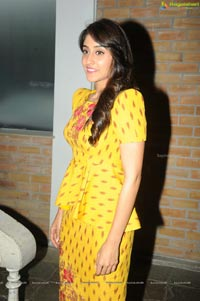 Regina Cassandra in Yellow Dress