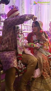 Heroine Ankitha Jhaveri Wedding