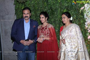 Sreeja Kalyan Wedding Reception