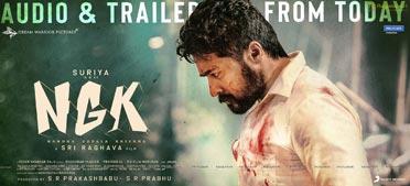 Suriya's NGK Audio & Trailer release Poster