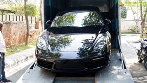 Naga Shaurya Porsche 718 Cayman