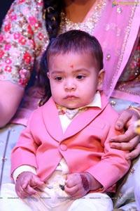 Bommak Jayansh 1st Birthday at Sri Bommak Gangaiah Gradens