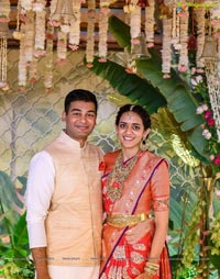 Venkatesh Daggubati's Daughter Aashritha's Wedding