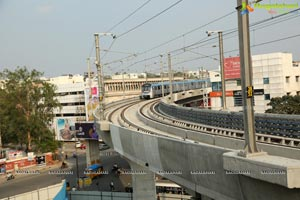 Ameerpet to Hi-Tec City Metro Train Services Launched