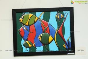 Voiced Colours - Ashray Akruti Children's Art Work Display